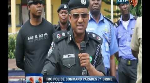Imo Police Command Parades 71 Crime Suspects