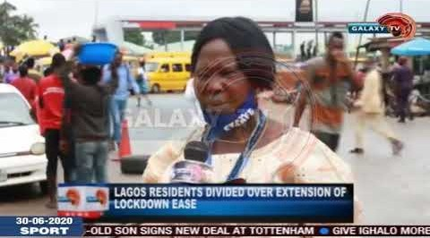 Lagos Residents Divided over Extension of Lockdown Ease