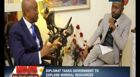 News on the hour: Diplomat tasks govt to explore mineral resources