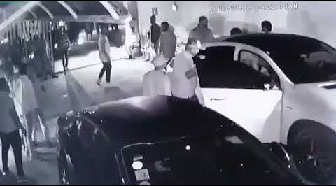 #TagboDeath: Davido released CCTV footage from the Shisha lounge