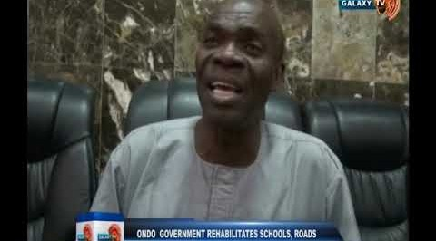 Ondo government rehabilitates schools, road