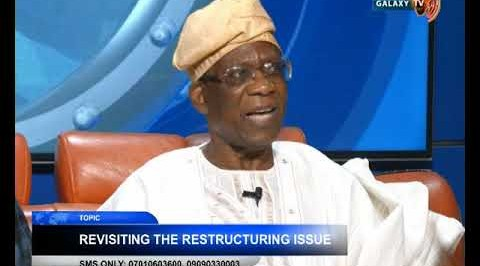 Revisiting the Restructuring Issue