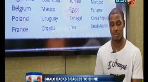 Ighalo backs Super Eagles to shine at the 2018 World Cup