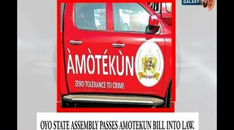 Oyo State Assembly Passes Amotekun Bill into Law