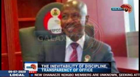 The Inevitability of Discipline Transparency of Office.