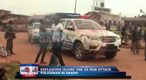 Explosives injuries One as Mob Attack Policemen in Okeho