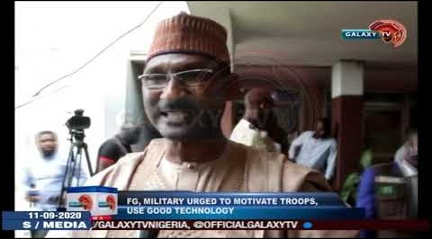 FG, Military urged to Motivate Troops, Use Good Technology