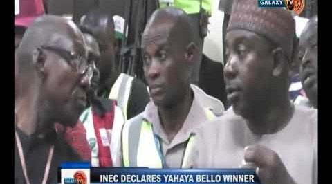 INEC Declares Yahaya Bello Winner of Kogi Election