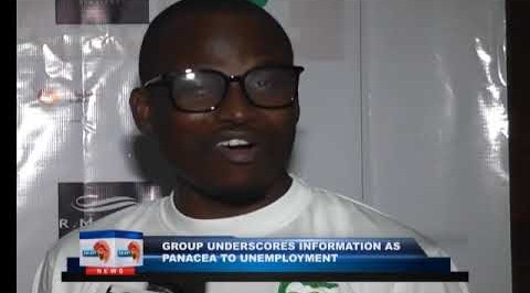 Group underscores information as panacea to unemployment