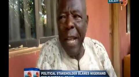 Political Stakeholder Blames Nigerians for Electoral Fraud