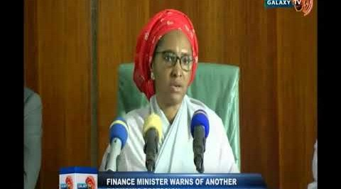 Finance Minister Warns of Another Economic Recession