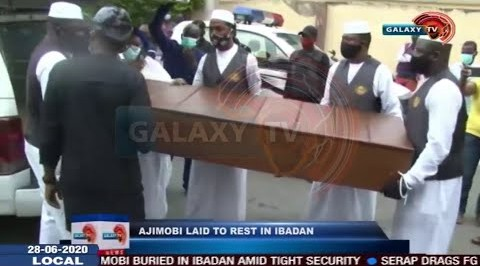 Ajimobi Laid to Rest in Ibadan