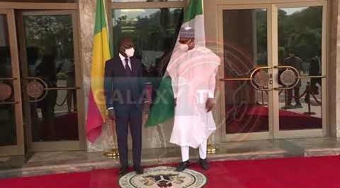 BUHARI HOSTS PRESIDENT OF BENIN REPUBLIC.