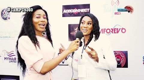 CAMPUS 360 with Adanna at the NIGERIAN STUDENTS FASHION AND DESIGN WEEK