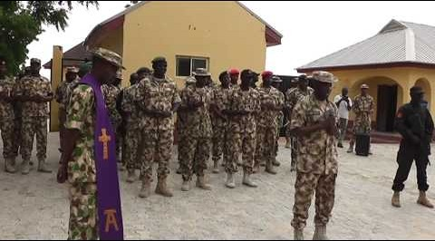 Army bury fallen heroes at  Maimalari barracks