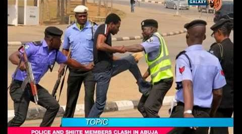 Shiite protesters clash with police in Abuja