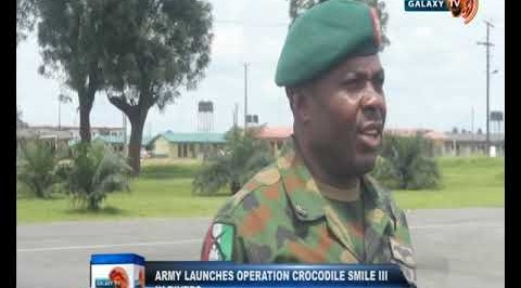Army launches operation crocodile smile in Rivers