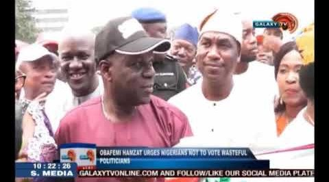 Hamzat urges Nigerians not to vote wasteful politicians