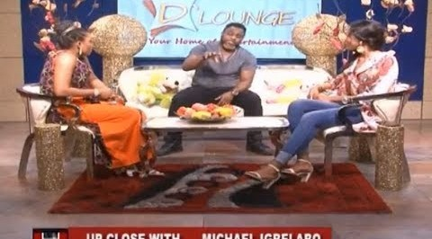 D'Lounge: Up Close with Michael Igbelabo