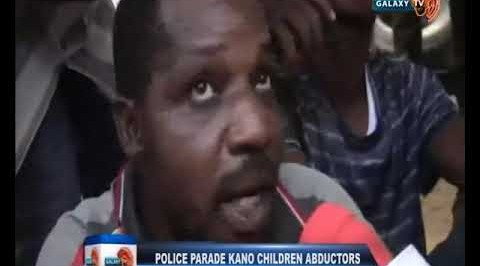 Police Parade Kano Children Abductors