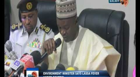 Environment Minister says LASSA Fever is under Control