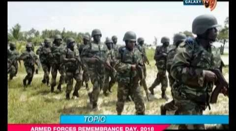 The Buzz: Armed Forces Remembrance Day, 2018