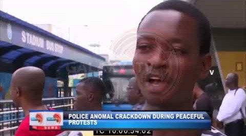 Police Anomal Crackdown during Peaceful Protests.