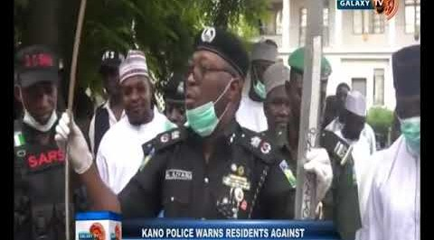 Kano Police Warns Residents Against Bearing Arms