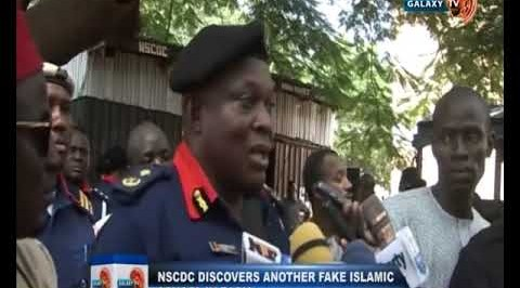 NSCDC Discovers Another Fake Islamic School in Zaria