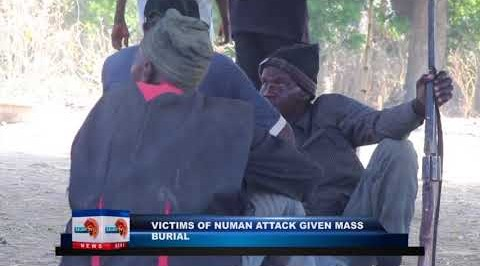 Victims of NUMAN attack given mass burial