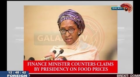 Finance Minister counters claims by Presidency on Food Prices