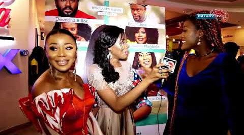 "Reel Nollywood with Adanna on the Movie Premiere of ""SHE IS"""