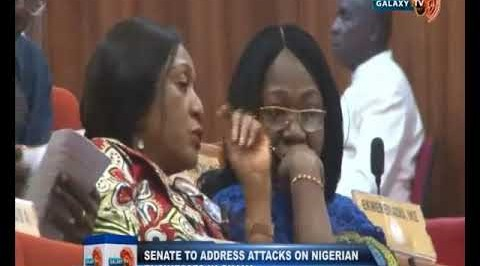 Senate to Address Attacks on Nigerian Businesses in Ghana.