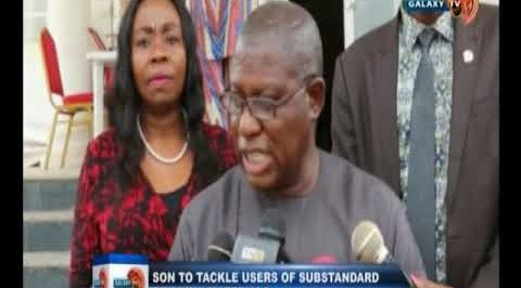 SON to tackle users of substandard building materials