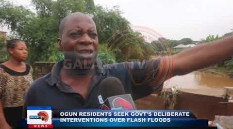 Ogun Residents Seek Government's Intervention over Floods