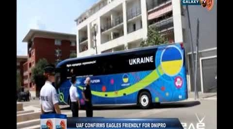 Ukrainian Association of Football Confirms Eagles Friendly for Dnipro Arena