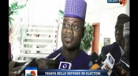 Yahaya Bello Defends Re-Election