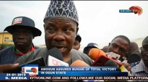 Amosun Assures Buhari Of Total Victory In Ogun State