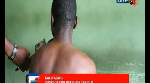 Benue Police Parades Men for Raping a 3yrs Old and a 12yrs Respectively
