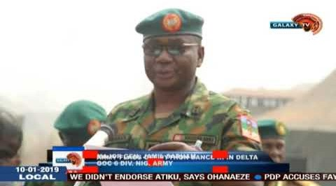Army Flags Off Python Dance III In Delta