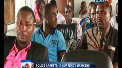 Police arrests 13 currency hawkers in Port-Harcourt