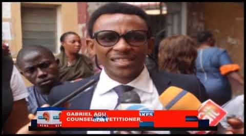 PETITIONER RITA ORJI MAKES FINAL  SUBMISSION AT TRIBUNAL