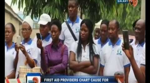 First aid providers chart cause for safety plan