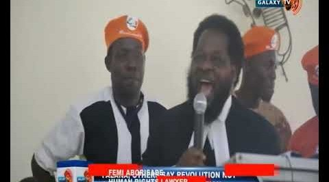 Falana, Others say Revolution not Against Nigeria's Constitution