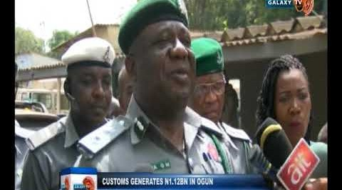 Customs generates N1.12BN in Ogun