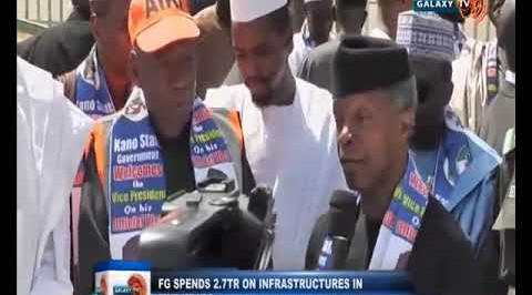 For the First Time in Nigeria, N2 7Trillion has been Spent on Infrastructure Alone   Osibajo