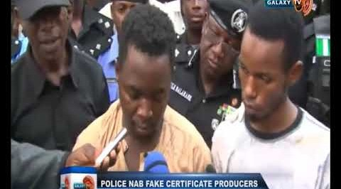 Police NAB Fake Certificate Producers in Kano