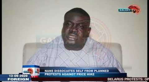 NANS Dissociates Self from Planned Protests against Price Hike.