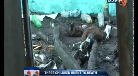 Three Children Burnt to Death in Ibadan