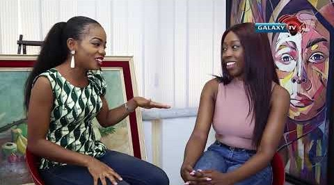 Funke interact with Beverly Naya on Celebrity Zone.